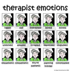 Therapist emotions