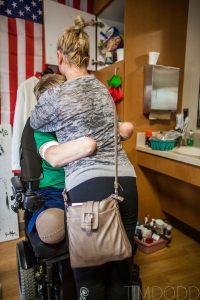 23-year-old Taylor Morris' was badly injuried—after stepping on a bomb in Afghanistan, he is now one of the world's few quadruple amputees. And yet in just a few months, with the help of his devoted (and bad-a**) girlfriend, Morris has learned to walk, and even dance, in a whole new way. Read more: http://www.oprah.com/spirit/The-Most-Heartwarming-Stories-of-2012/2#ixzz2XrUBG333